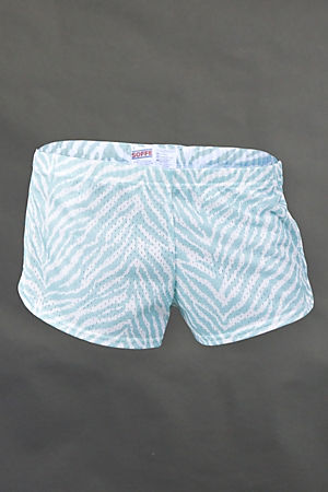 Blue Tiger Teeny Tiny Shorts